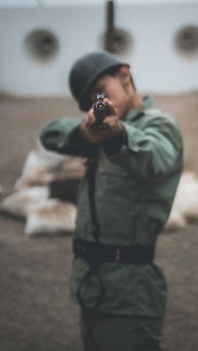 射击 军人 士兵 枪 狙击 武器