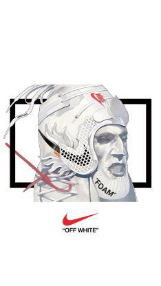 耐克 士兵 头盔 品牌 黑白 运动