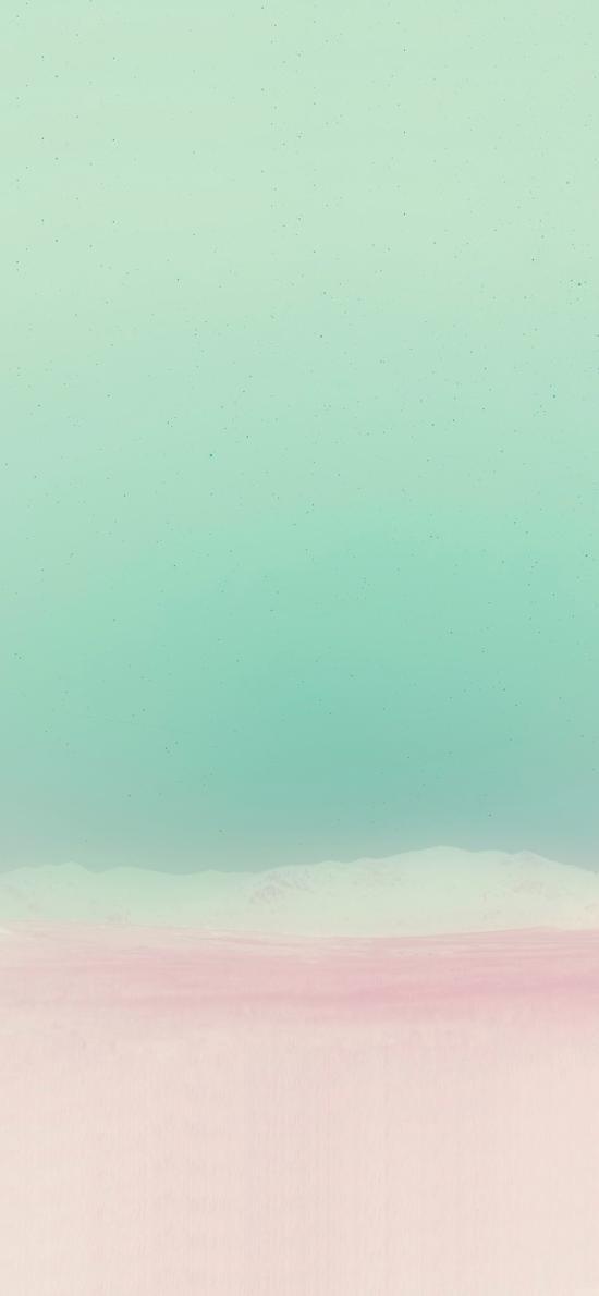 朦胧 渐变 小清新 色彩 抽象