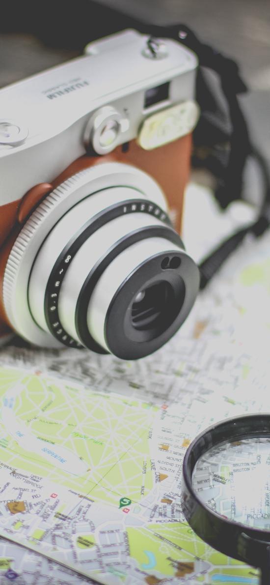 相机 单反 放大镜 静物 摄影
