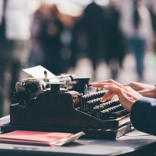 打字机 复古 按键 创意