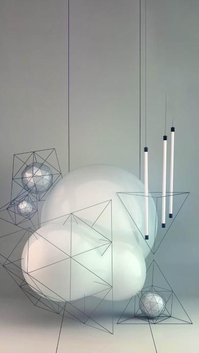 科技 立体 几何 空间