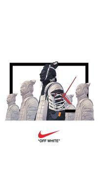 耐克 品牌 运动 兵马俑 鞋带