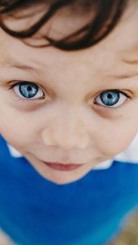 小男孩 蓝眼睛 欧美 儿童 孩童