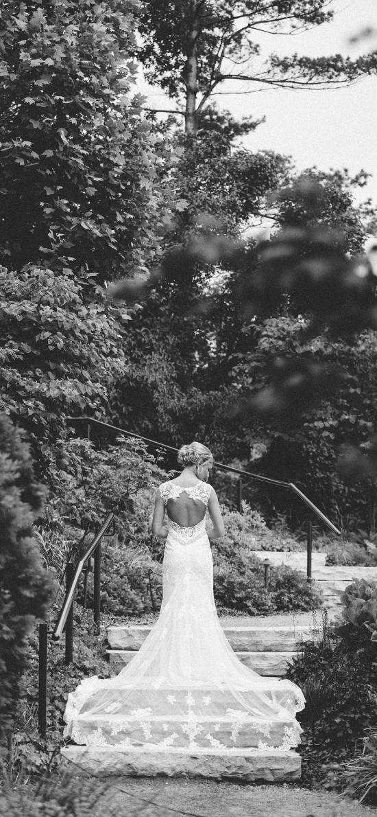 婚纱 黑白 礼服 情感