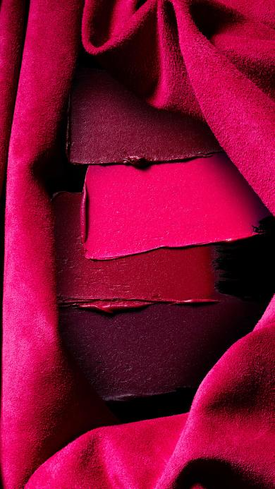 口红 枚红色 鲜艳  化妆品