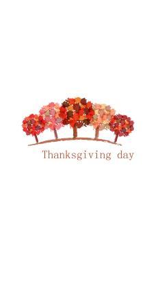 感恩节 thanksgiving day 树