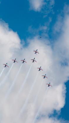 飞机 航空 飞行 天空 蓝天白云