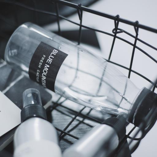 物品 黑白 瓶子 购物框