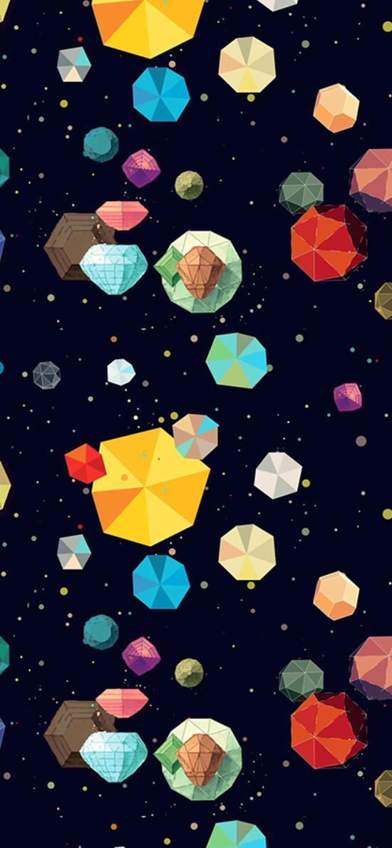 创意 色彩 几何 立体