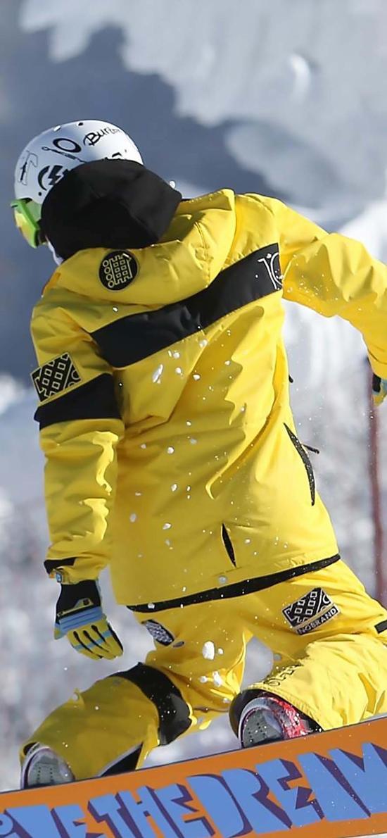滑雪 运动 雪季 冬季