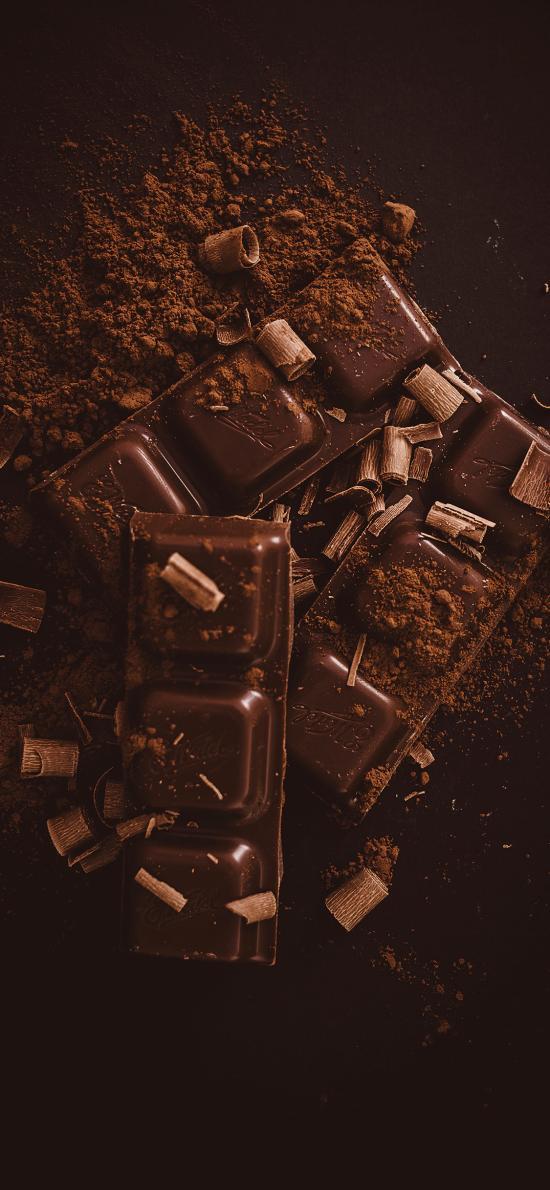 巧克力 墨粉 研磨 高热量
