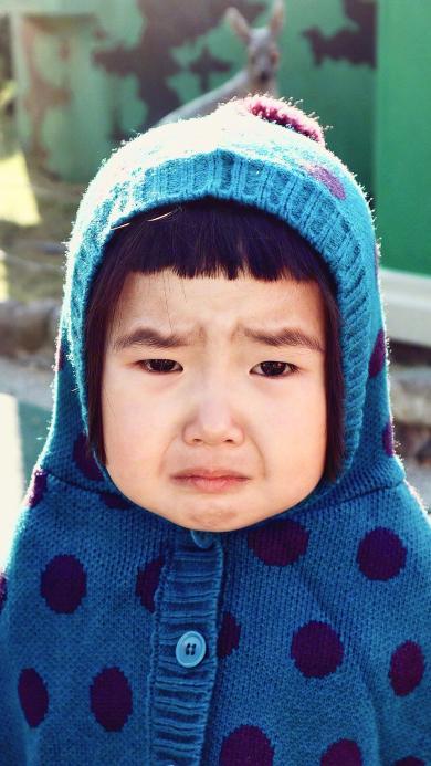 小蛮 小网红 可爱 萌 哭 伤心 难过 小女孩 儿童