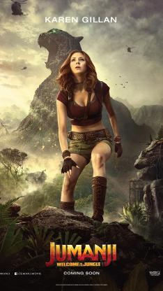 勇敢者游戏 决战丛林 电影 海报 好莱坞 凯伦吉兰 欧美