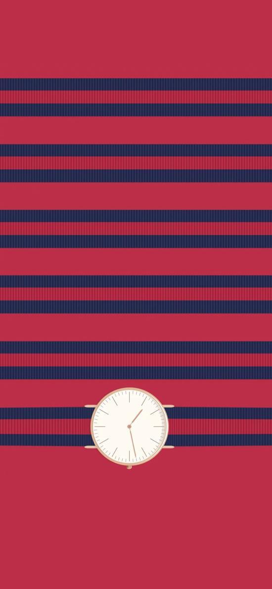 Daniel Wellington 丹尼尔·惠灵顿 手表 时尚 潮牌 红色 表带