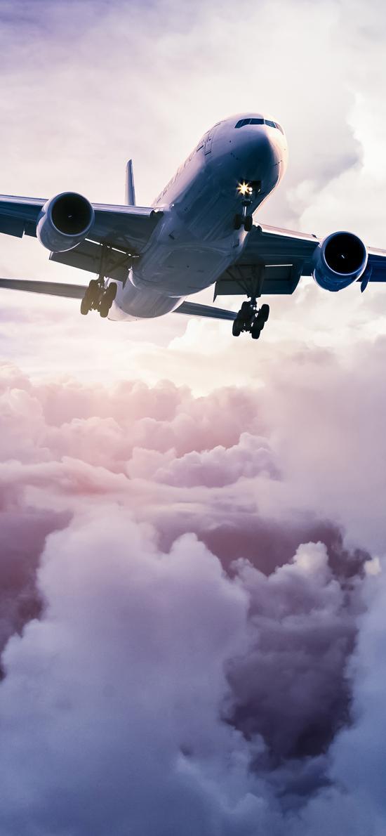 飛機 飛行 軍事 藍天白云 天空 陽光
