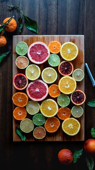 西柚 橙 水果 维生素 色彩 切片