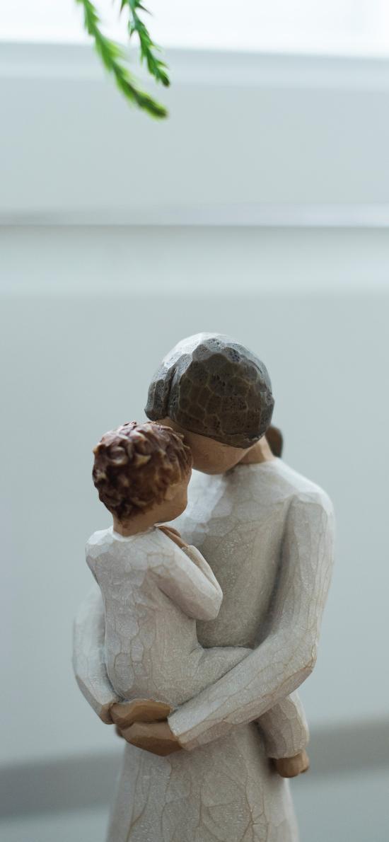 亲子 木雕 雕刻 创意