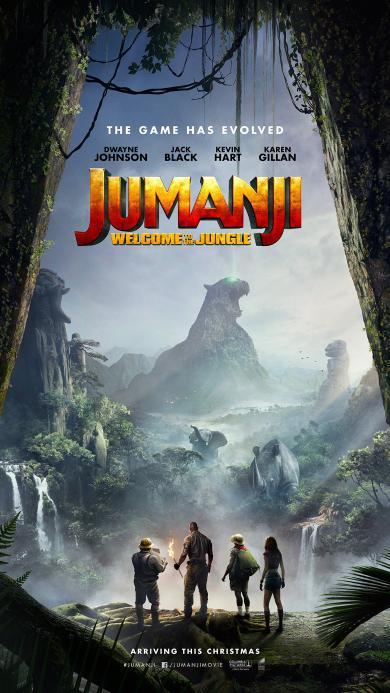 勇敢者游戏 决战丛林 电影 海报 好莱坞 巨石强森 欧美