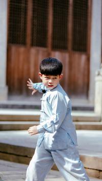 安吉 沙俊伯 爸爸去哪儿第五季 综艺 男孩