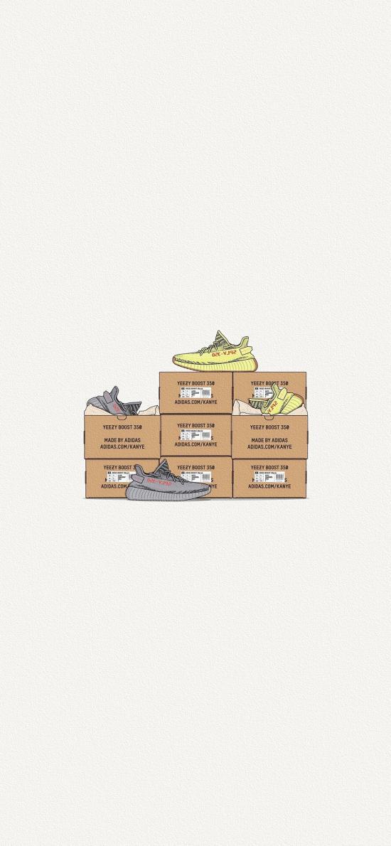 球鞋 运动鞋 鞋盒