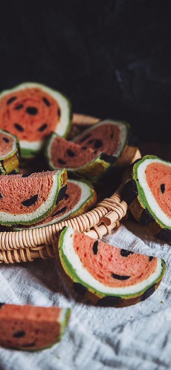 西瓜 蛋糕 甜品 烘焙