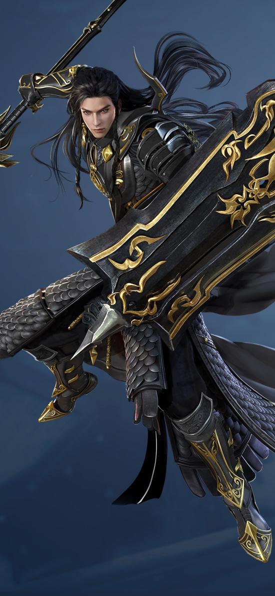 剑网3 苍云 古风 原画 角色