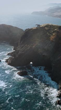 海岸 半岛 海浪 海水