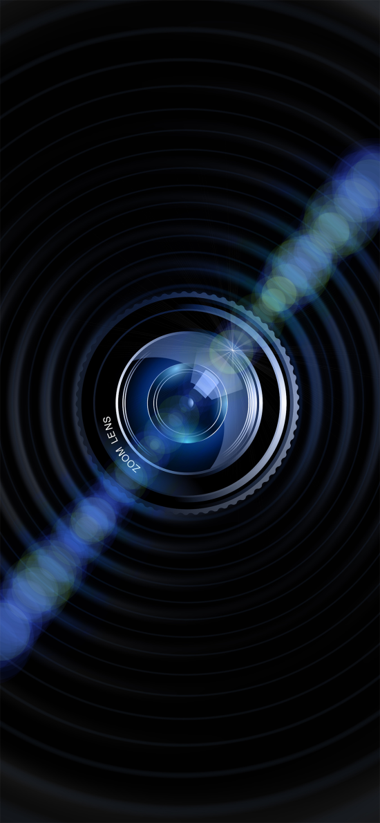 镜头 圆  摄影 光 聚焦