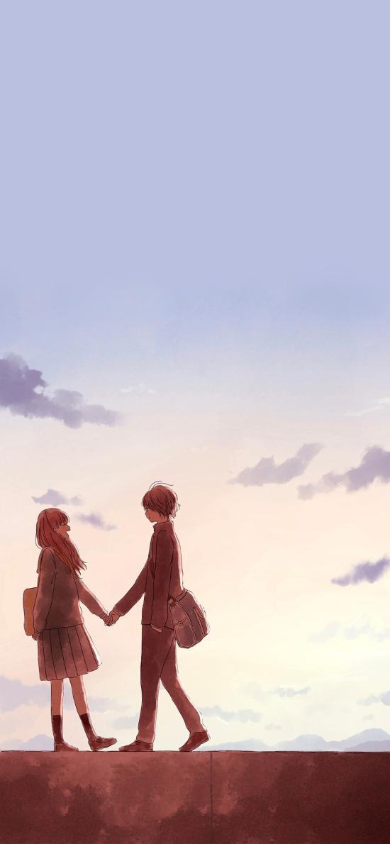 牵手 情侣 爱情