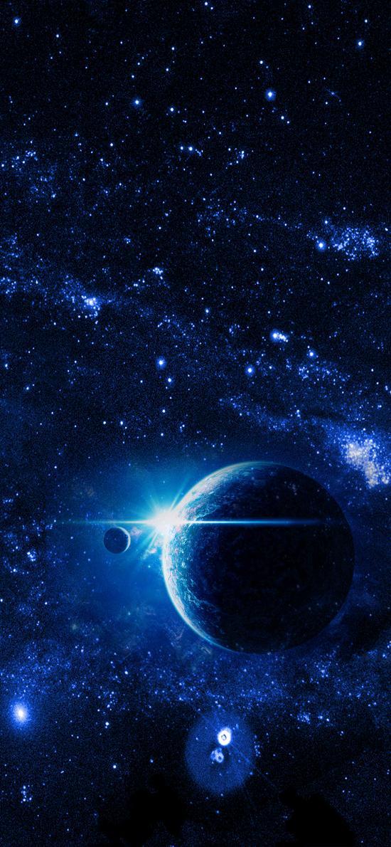星空 繁星点点 星系 宇宙