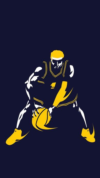 篮球 运动 运球 平面
