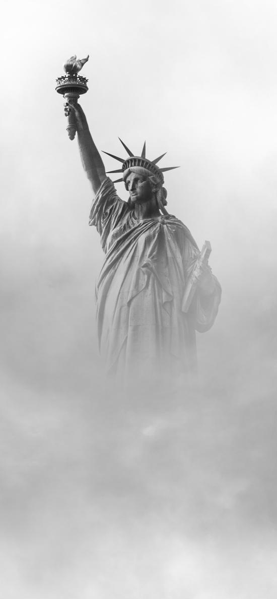 自由女神像 石膏 雕像 信仰