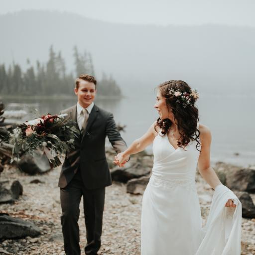 婚纱 婚礼 户外