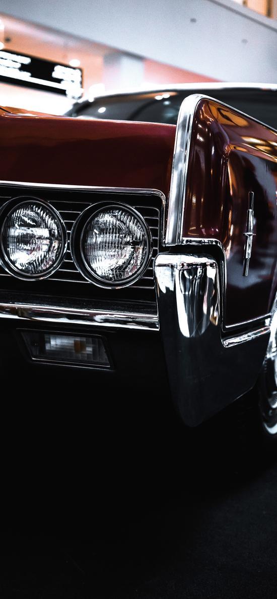 复古 车头 车灯 靓丽