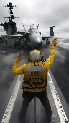 战斗机 指挥员 跑道 航空 背影