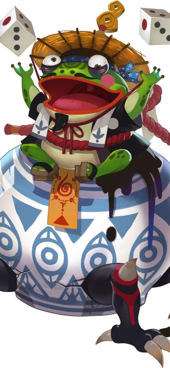 青蛙瓷器 陰陽師 手游 原畫 角色