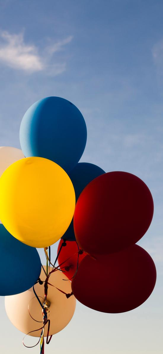 氣球 天空 色彩 其它