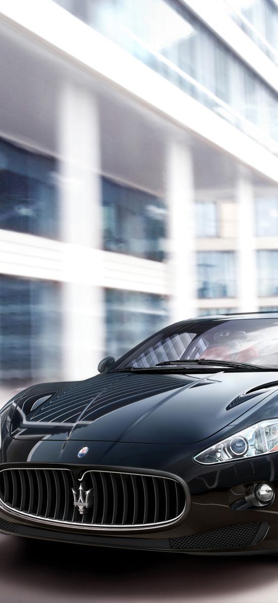 瑪莎拉蒂 跑車 黑色 超跑 豪車