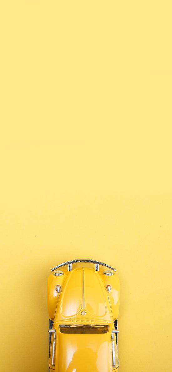 老爷车 黄色 玩具汽车 怀旧 模型