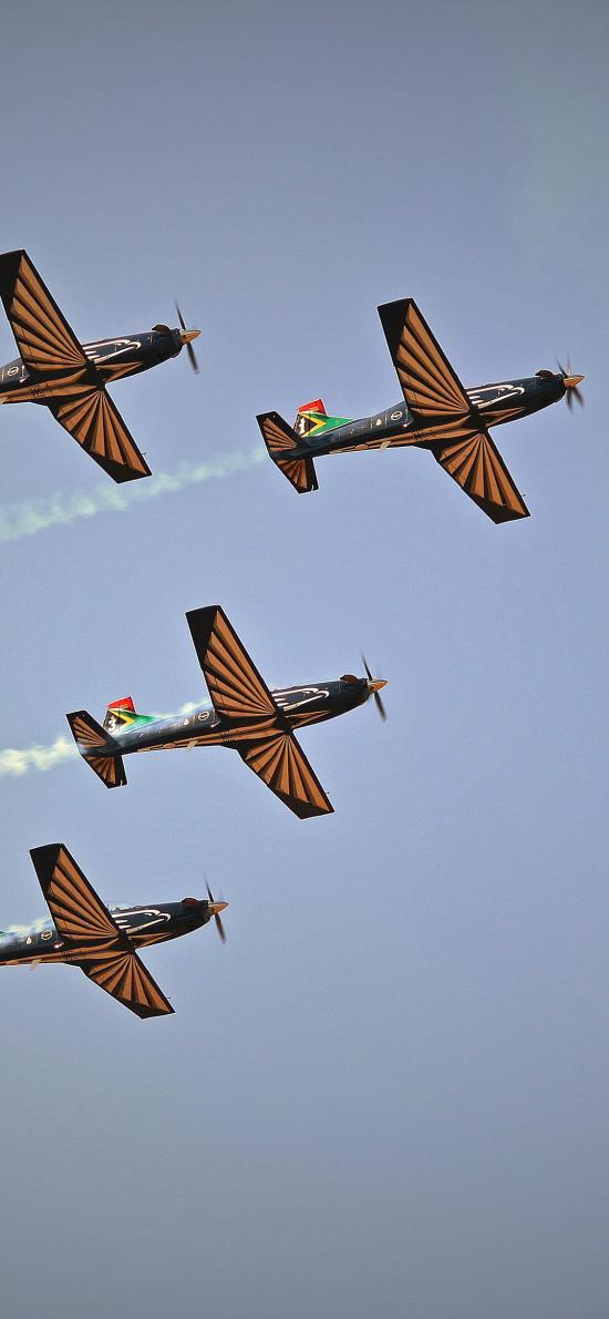 飞机 演练 喷气式 高空