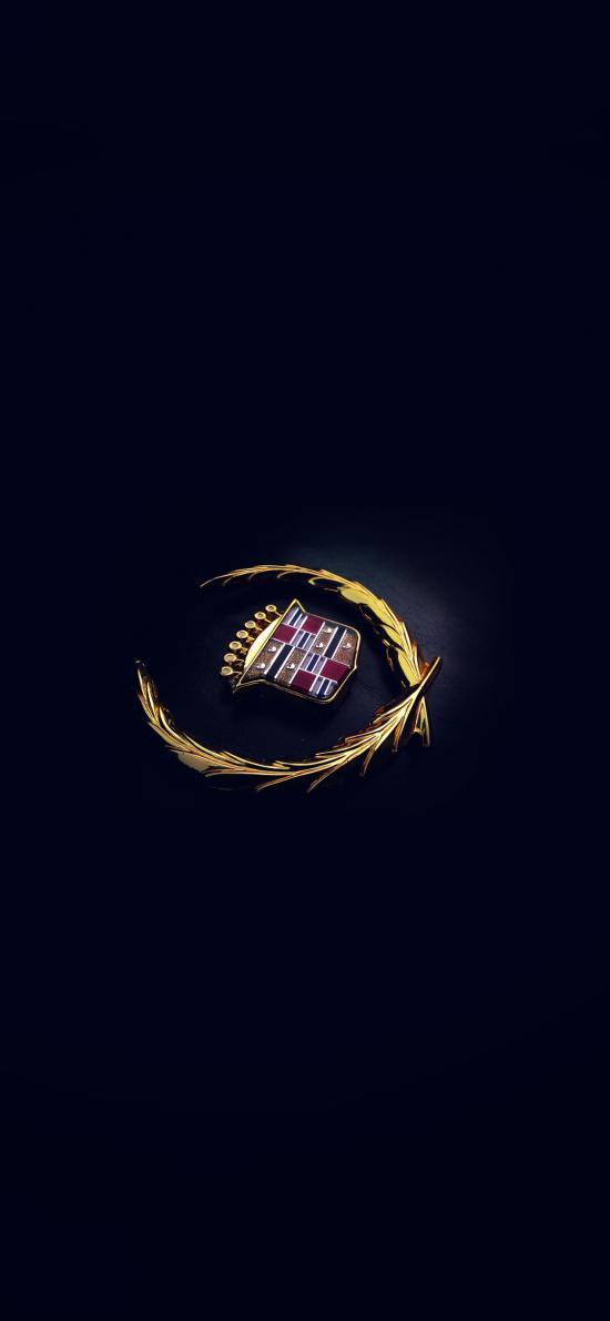 凱迪拉克 標志 logo 黑色