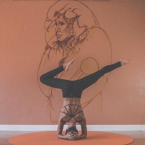 瑜伽 运动 倒立 动作