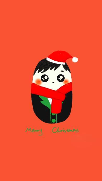 圣诞 merryChristmas 情侣壁纸