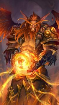 魔兽世界 游戏英雄 范达尔·鹿盔