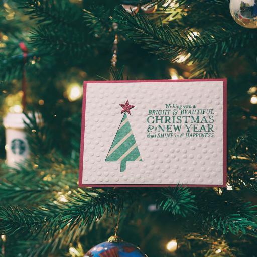 圣诞树 圣诞卡片 Merry Christmas