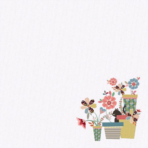 创意 抽象 设计 鲜花 自然 装饰  壁纸