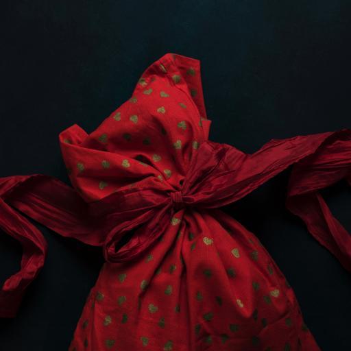 福袋 袋子 捆扎 红色