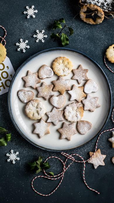饼干 烘焙 星星 圣诞