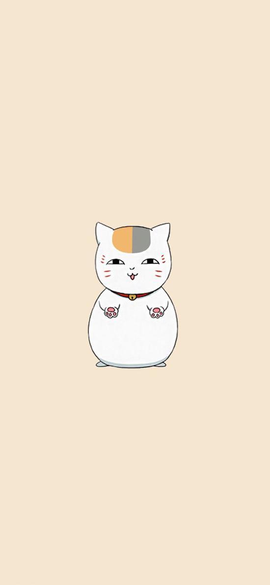 夏目友人帐动漫 猫咪老师 站立